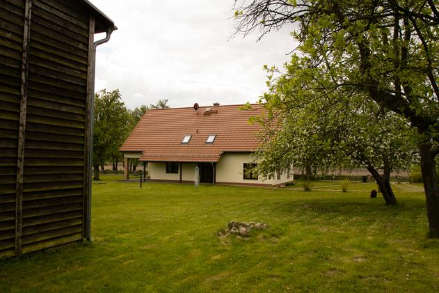 Rückansicht Landhaus
