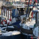 Fischerboote in Wiek